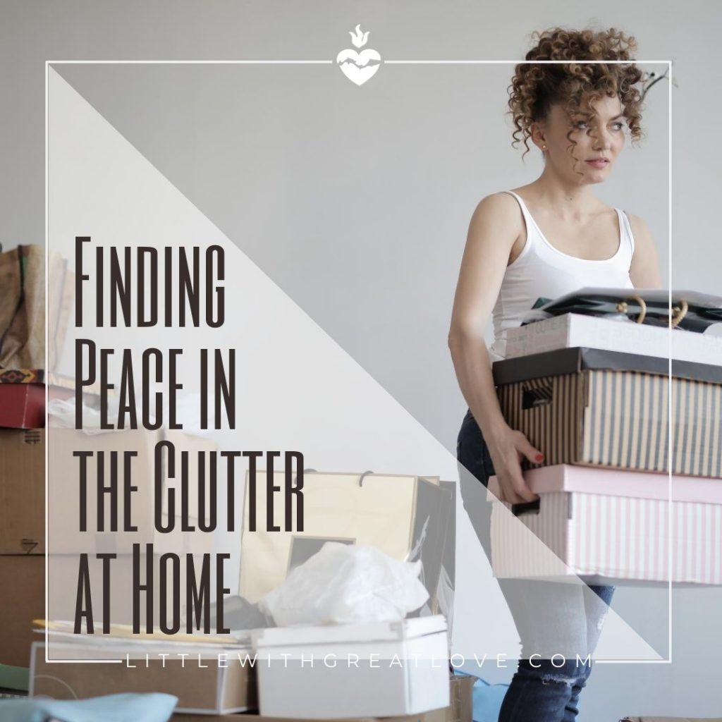 clutter at home