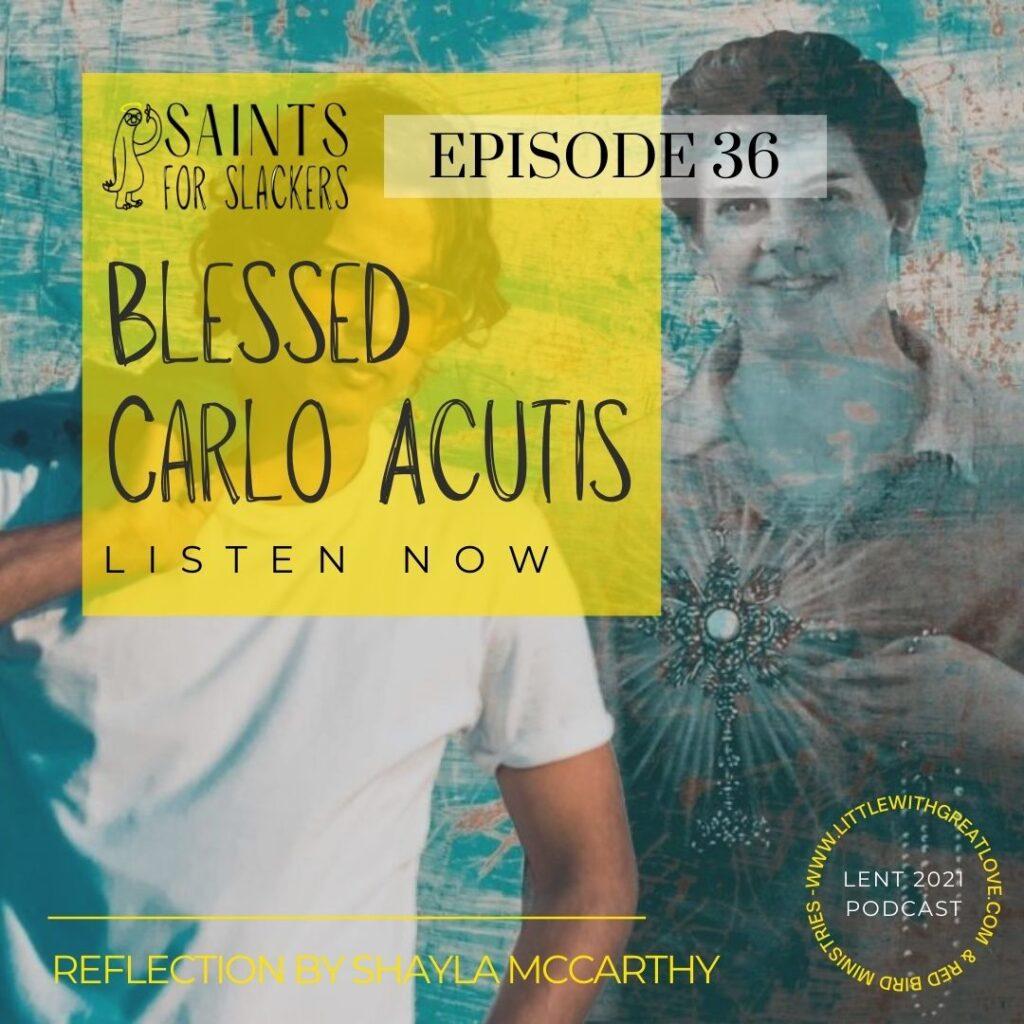 Blessed Carlo Acutis