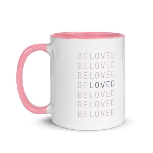 beloved pink mug